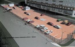 Проект частной коммеческой автостоянки в Московском микрорайоне
