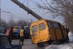 Очередная авария с участием маршрутного такси произошла в Брянске в ДТП пострадало семь человек.