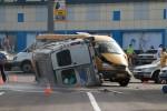 """...произошла авария с участием двух автомобилей  """"Газель """", одним из которых оказалось пассажирское маршрутное такси."""
