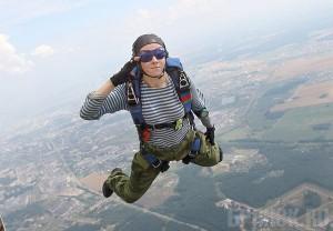 фото с парашютом десантников
